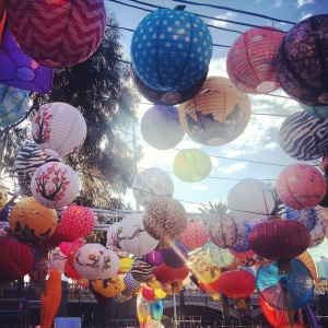Lanterns at the Night Noodle Markets